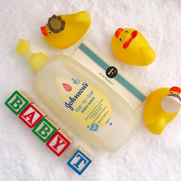 Johnsons Baby wash